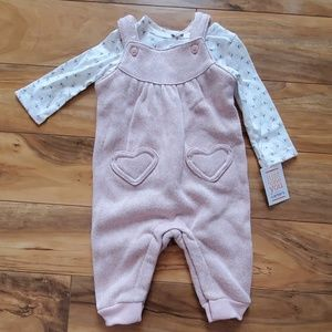 Just For You by Carter's Baby Girl Outfit